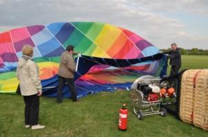 Ballonhüllenöffnung