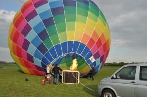 Ballonfahren Flugplatz Hamm