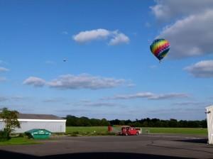 Ballonfahren Flugplatz Hamm Lippewiesen
